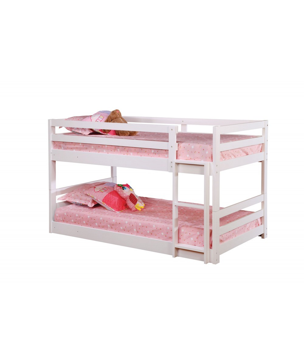 Triple Bunk Bed In White Bunk Beds