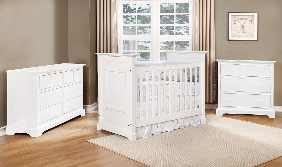 Waterford Basic Crib - White