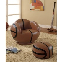 Basketball - Themed Chair and Ottoman