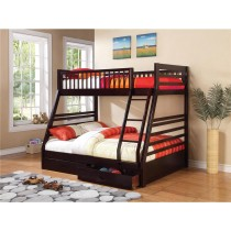 Ashton Bunk Bed - Cappuccino - Coaster Furniture