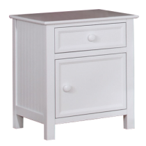 Summerlin Nightstand In White Finish