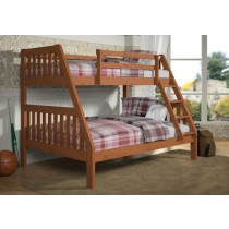 T/F Mission Bunkbed - Cinnamon Wax
