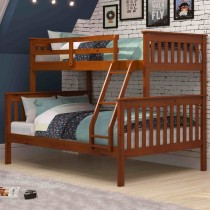 Twin over Full Mission Bunk Bed - Espresso