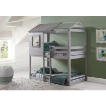 Deer Blind Bunk Loft - Light Grey