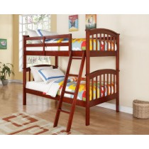 Columbia Bunk Bed - Cherry