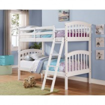 Columbia Bunk Bed - White