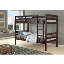 Devon Bunk Bed - Cappuccino