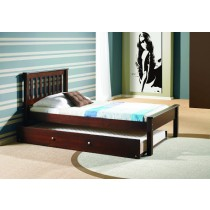 Twin Contempo Bed - Cappuccino