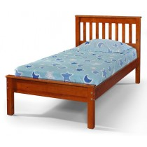 Twin Contempo Bed - Espresso