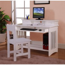 Youth Study Station - White