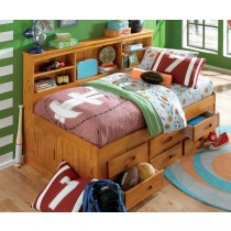 Honey Bookcase Daybed - Twin Size