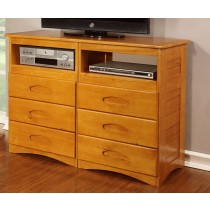 Entertainment Dresser - Honey