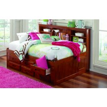 Merlot Bookcase Daybed - Full Size