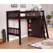 Espresso Twin Loft Bed (Loft Only)