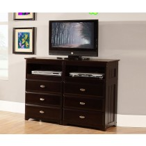 Entertainment Dresser - Espresso