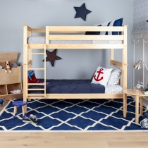 M3 Twin/Twin Solid Pine Bunk Bed - Natural