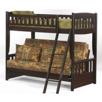 Cinnamon Twin over Futon Bunk - Chocolate