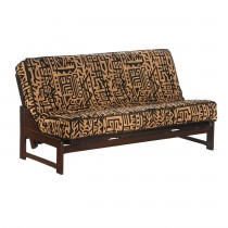 Night and Day Eureka Futon Frame - Full Size - Chocolate