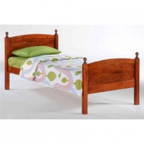 Twin Licorice Bed in Cherry