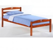 Twin Sesame Bed in Cherry