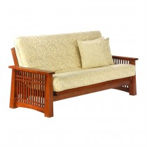 Night and Day Solstice Futon - Queen Size Frame - Cherry Finish
