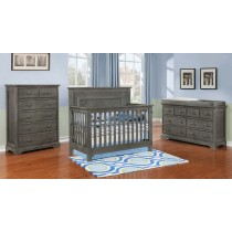 Waterford Classic Conversion Crib - Weathered Grey
