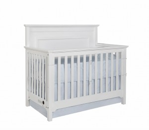 Waterford Classic Conversion Crib - White